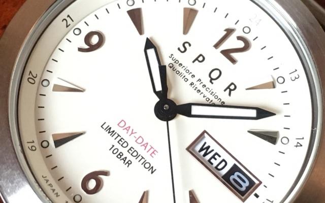 【SPQR ブランド初のデイ・デイト機能の付いた定番ウォッチ】MASTERPIECE DAY DATE × SOMESブライドルレザー