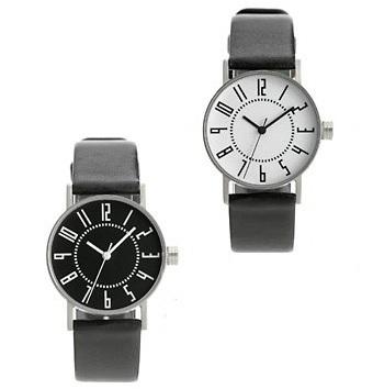 【展示品につき30%LESS】 【グッドデザイン賞受賞!世界的デザイナー 五十嵐 威暢 氏による究極のベーシックデザイン  その名は  エキウォツチ  外径φ30mm】   eki watch  designed by  Takenobu Igarashi