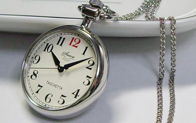 懐中時計の定番「TASCHETTA(タスケッタ)」ステンレスモデル