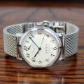 【時と共に価値が増す本物で上質な高級機械式腕時計】THE SPQR  ×ドイツSTIB社SSメッシュバンド