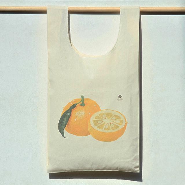 エコバッグ柚子