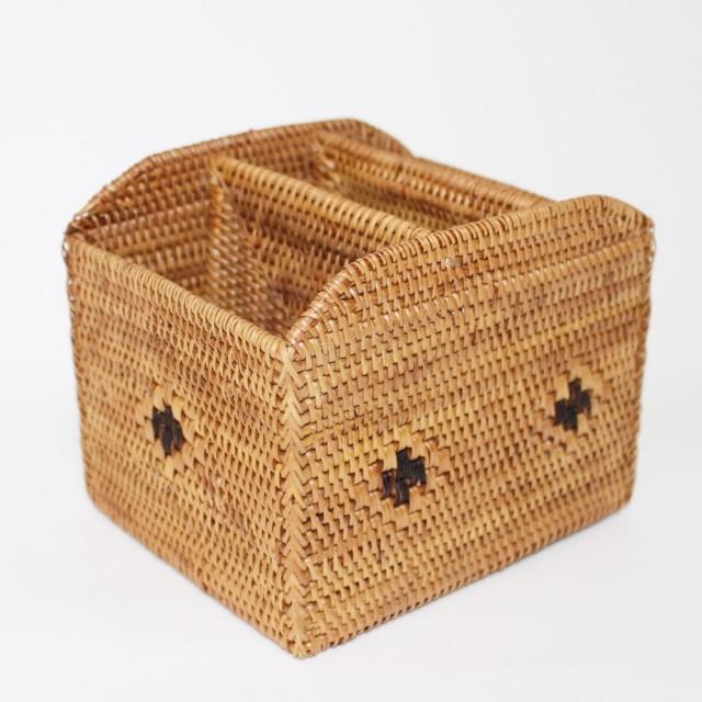 アタ製バスケット(リモコンケース)