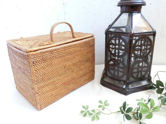 アタ製ボックス,バリ雑貨