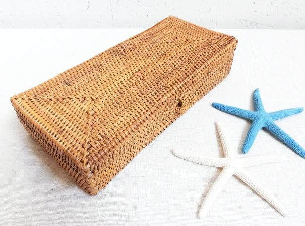 アタ製ボックス,バリ雑貨,アタ,かご