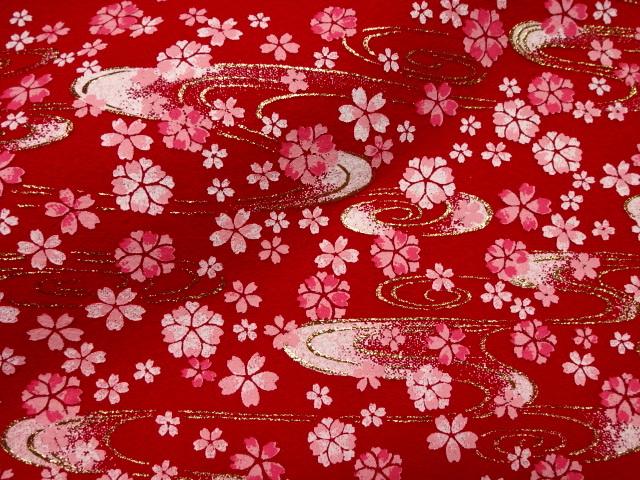 毛氈(もうせん) 水面桜