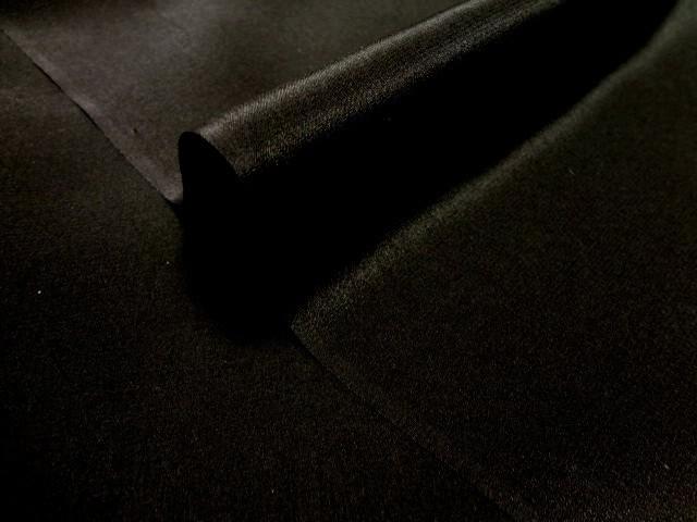 正絹 パレス(黒) 10cm単位 切り売り