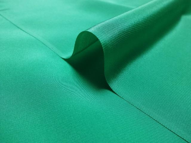 正絹 パレス(緑) 10cm単位 切り売り