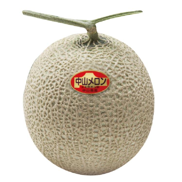 富良野産 中山農園の大玉メロン (1玉/約2.3kg) 【優品】 【029】