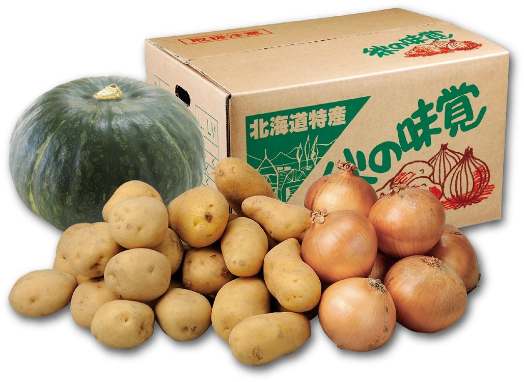芋・玉ねぎ・南瓜セットA 【A0102】