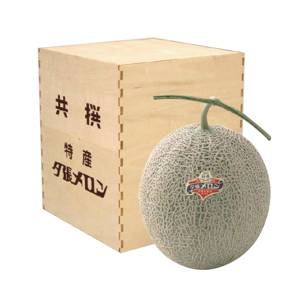 夕張メロン <特秀品> 1玉入 木箱入 【0010】