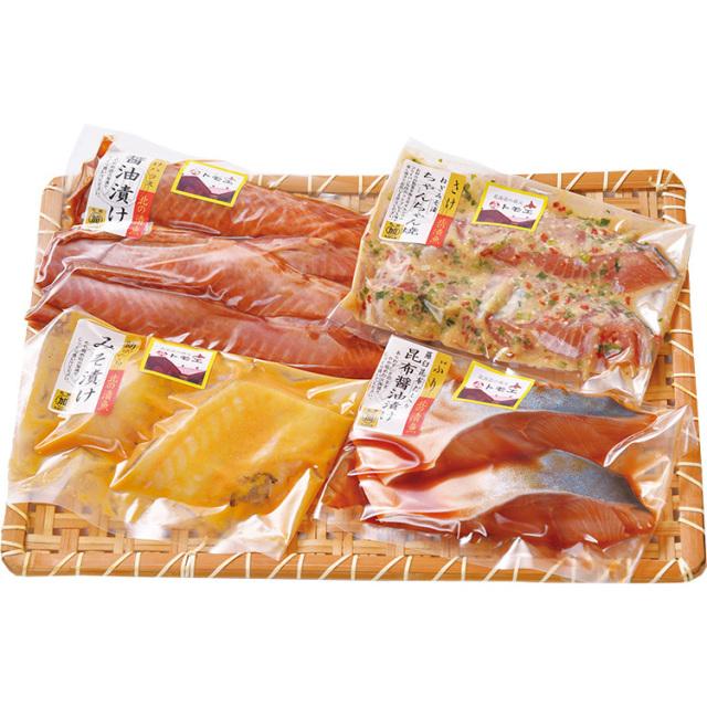 【早期割引】道産漬け魚トモエセット 【094】