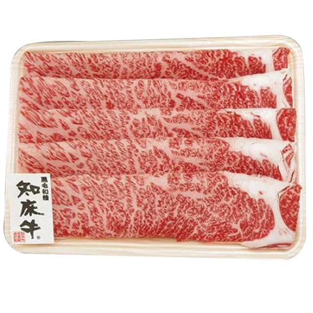 北海道産 知床牛 すき焼用肩ロース 【124】