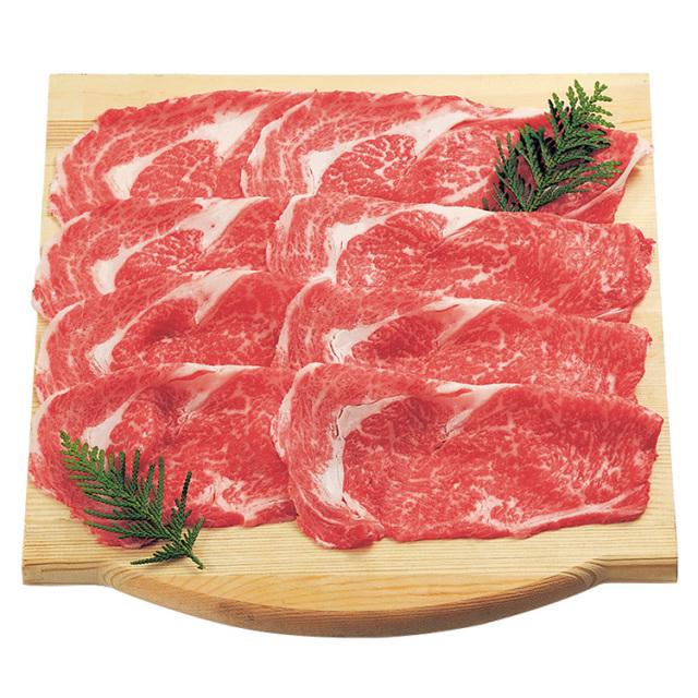 【早期割引】北海道産 黒毛和牛すき焼用ロース 【145】