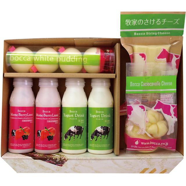 牧家 乳製品詰合せセット 【196】