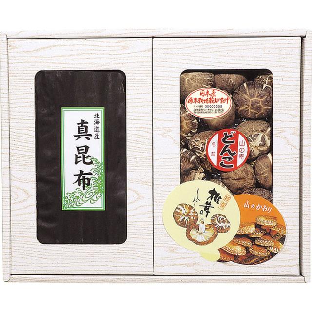 マルトモ物産 椎茸・昆布セット 【454】