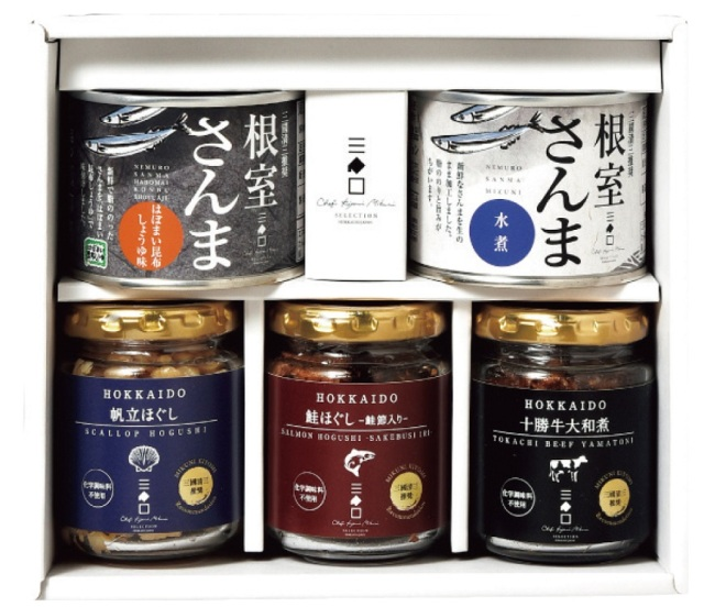 三國推奨 北海道珍味&さんまセット 【100】