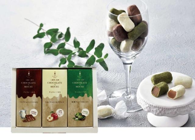三國推奨 チョコレートもち3種ギフト 【249】