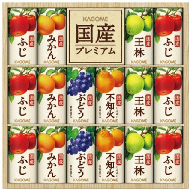 カゴメ 国産プレミアムジュースギフト  【378】
