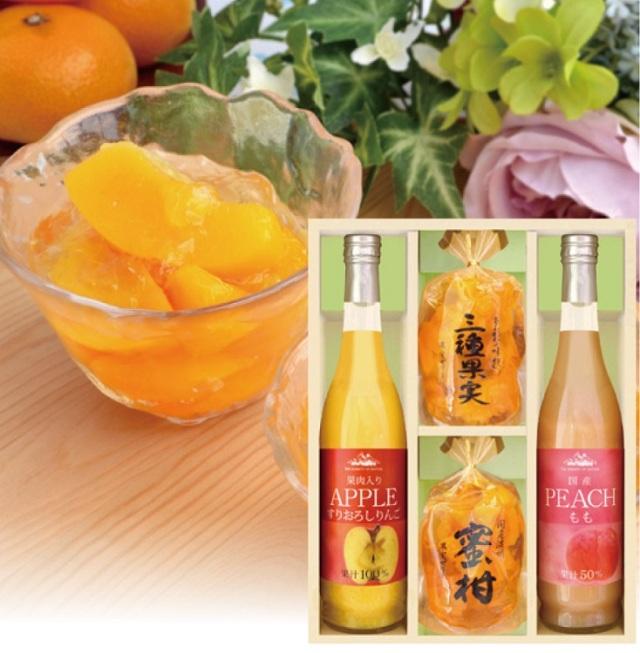 美食ファクトリー 果実のゼリー・フルーツ飲料セット 【381】