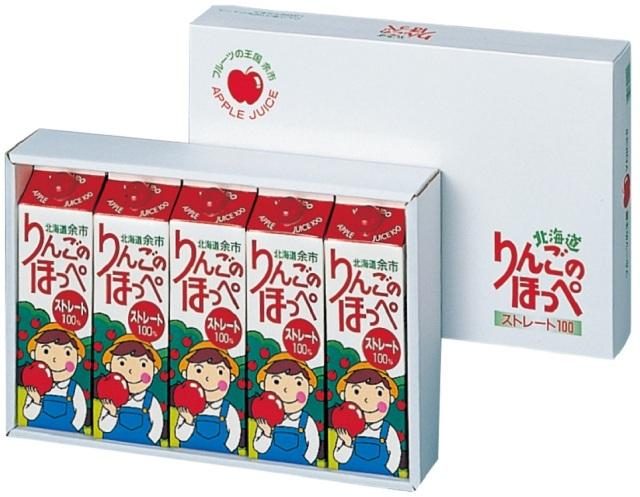 余市農協 りんごのほっぺ ストレート 【388】
