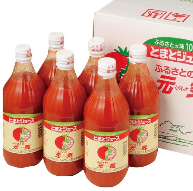 下川町農産物加工研究所 とまとジュース ふるさとの元気 【393】
