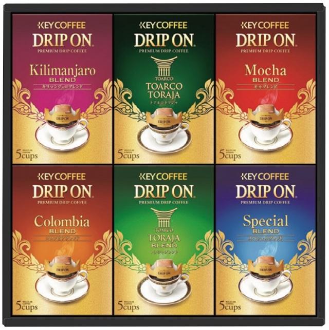 キーコーヒー ドリップオンギフト 【402】