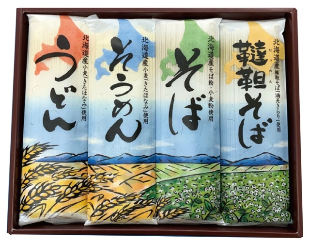田村製麺 北海道乾麺セット 【434】