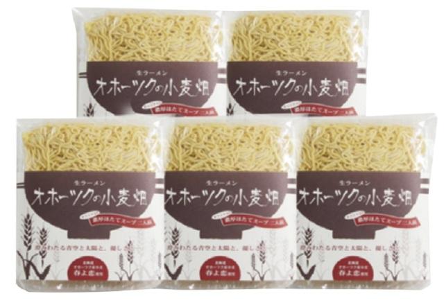 ツムラ 生ラーメンオホーツクの小麦畑10食詰合せ 【439】