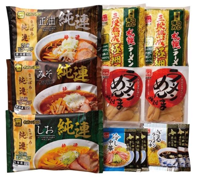 菊水 北の麺自慢12食詰合せ 【447】