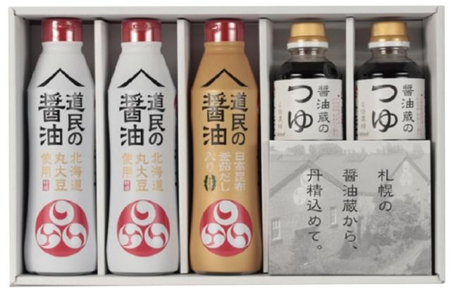 トモエ 醤油蔵のしょうゆ・つゆセット 【470】