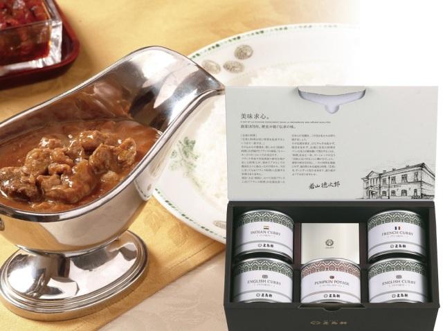 五島軒 カレー&スープ5缶セット 【487】