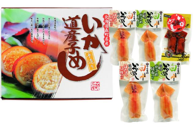 マルモ食品 いか道産子めし 【D9945】