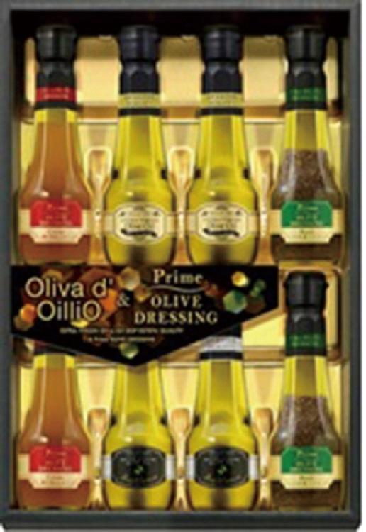 日清オイリオ Oliva d'OilliO エキストラバージンオリーブオイル&プライムオリーブドレッシングギフト 【K9948】