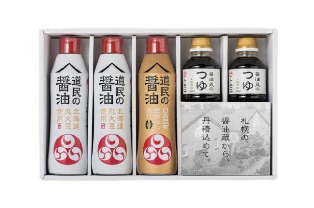 トモエ 醤油蔵のしょうゆ・つゆセット 【K9958】