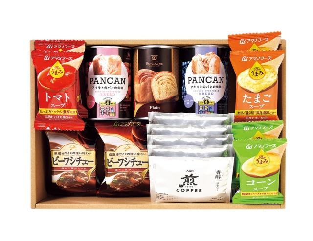 非常食にもなるおいしいパン缶詰セット 【K9980】