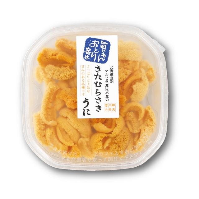 北海道産塩水うに むらさきうに 約100g入×1パック 【C】