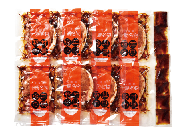 北海道産 豚丼の具(醤油味)8点セット 【21-102035】