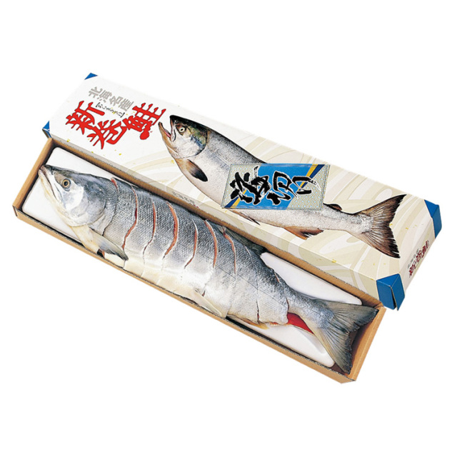【早期割引】原料原産地名:北海道 新巻鮭 姿切身(銀毛・オス) 【003】