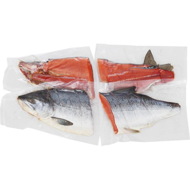 三協水産 原料原産地名:日高 銀聖新巻鮭姿切身 【007】