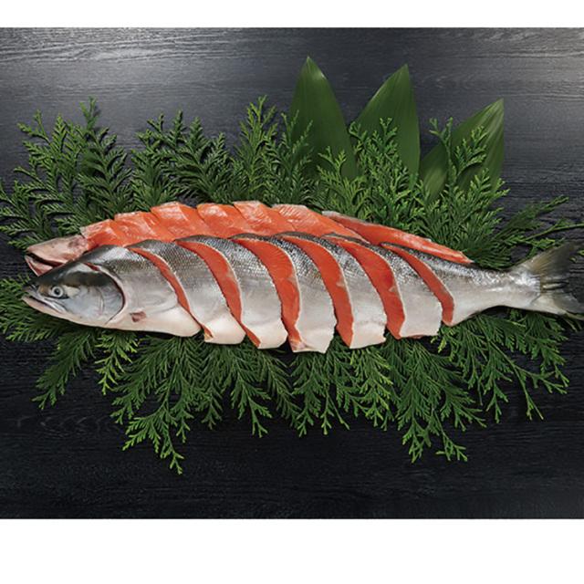 【早期割引】原料原産地名:ロシア 天然甘口紅鮭(姿切身) 【017】