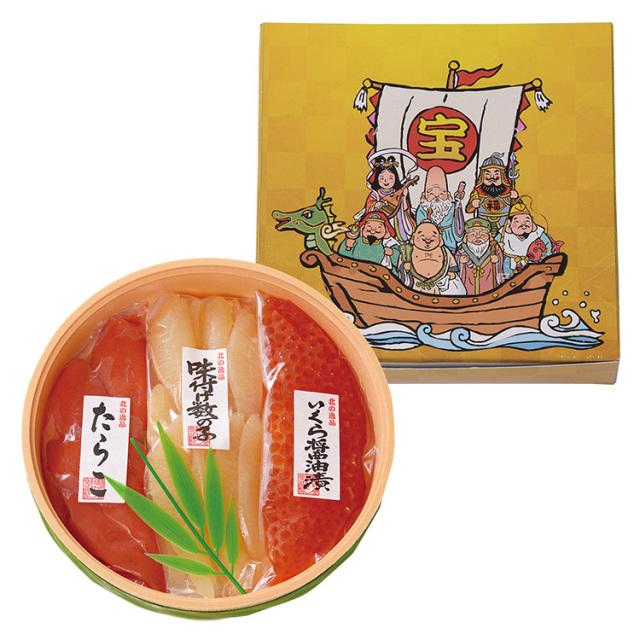 サン食品 七福神(魚卵3点セット) 【038】