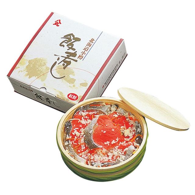 八丸堀内水産食品 紅鮭飯寿し 【091】