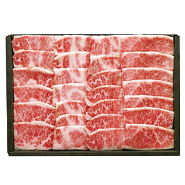 北海道産 知床牛焼肉用バラ 【141】