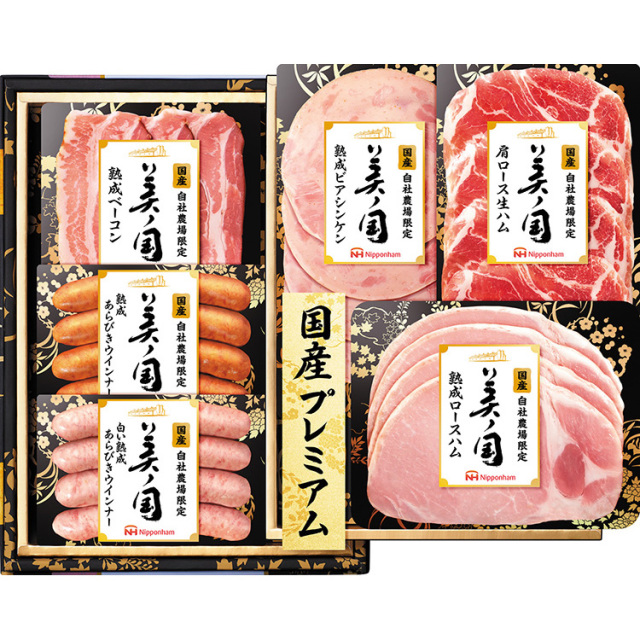 日本ハム 国産プレミアム 美ノ国ギフト 【197】