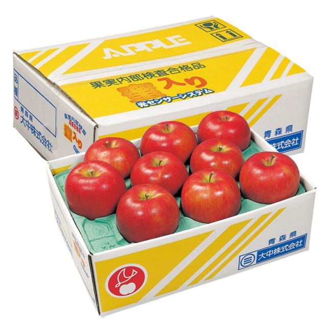 【早期割引】青森県産  糖度14度・蜜入り保証 サンふじ 【244】