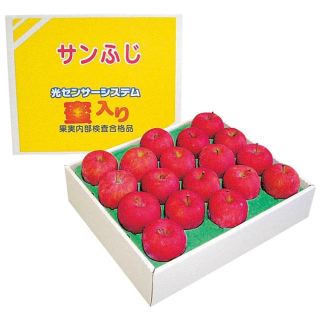 【早期割引】青森県産  糖度13度・蜜入り保証 サンふじ 【245】