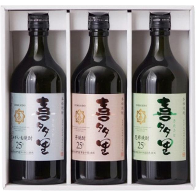 札幌酒精 本格焼酎 喜多里ギフト 【374】