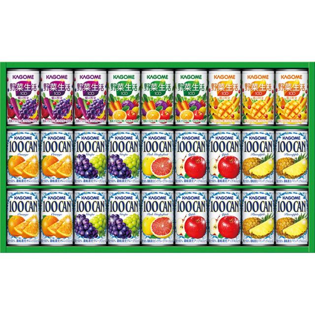 カゴメ フルーツ+野菜飲料ギフト(缶容器) 【398】