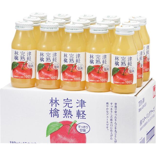スターリングフーズ nora津軽完熟林檎ジュースセット 【406】