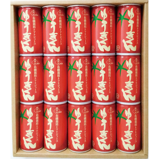 谷口農場 有機栽培トマトジュース ゆうきくんギフト 【410】